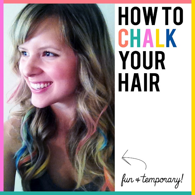 how to make hair chalk last longer