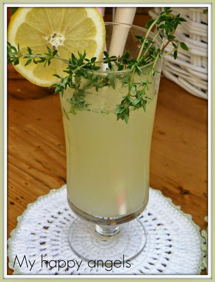 tymianovo citronova limonada
