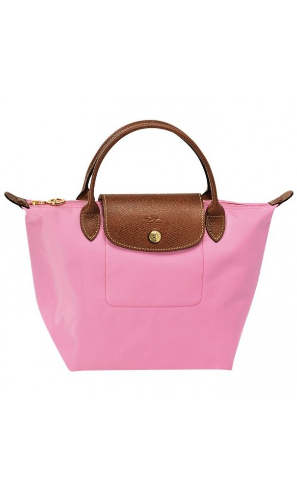 Longchamp Le Pliage Small Handbag Pink. #outfitoftheday #gifts