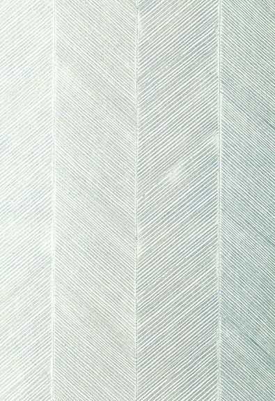 Herringbone textured wallpaper. Schumacher