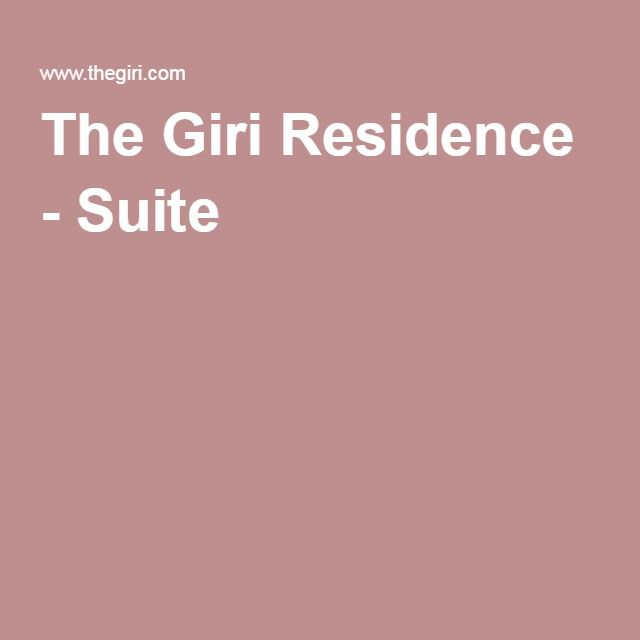 The Giri Residence - Suite 1