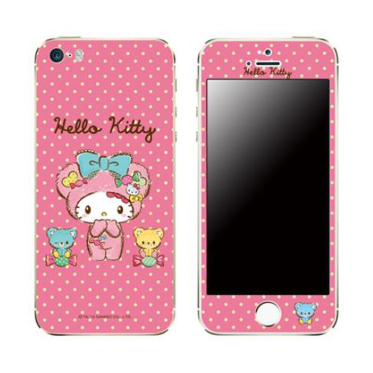 Skin decal stickers iphone 6 plus universal mobile phone hello kitty candy bear popskin