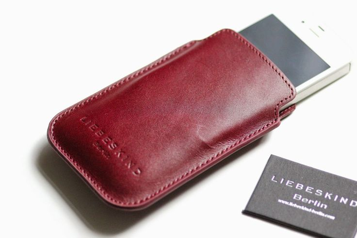 MOBILE LEATHER CASE BY LIEBESKIND BERLIN www.prizmahfashion.com