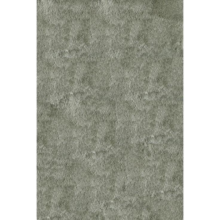 Momeni Luster Shag Sage Hand-Tufted Shag Rug (2' X 3') (Handmade Posh Mint Green Shag Rug (2' x 3')), Size 2' x 3'