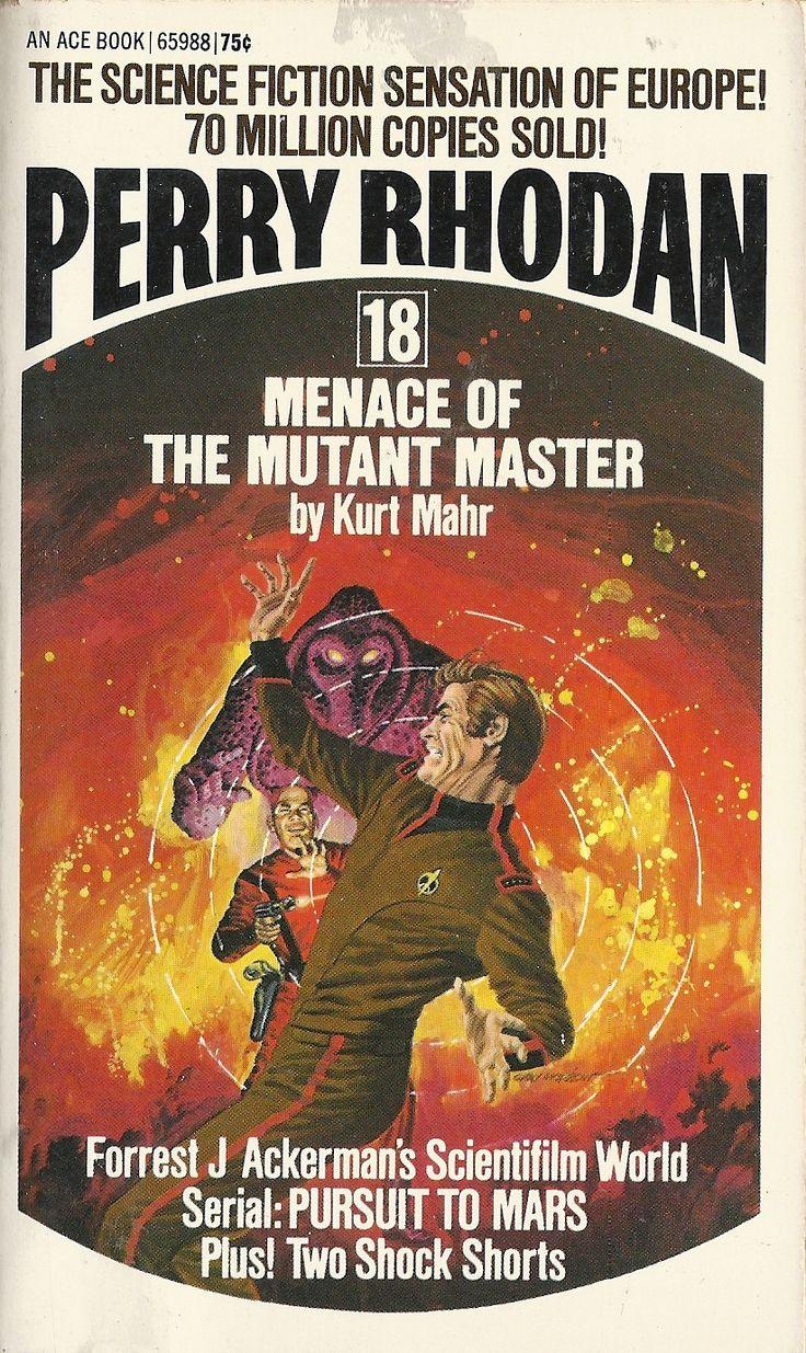 Perry Rhodan 18 Menace of the Mutant Master