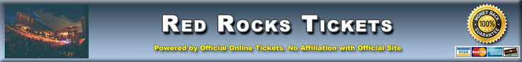Red Rocks Amphitheatre Morrison Colorado - Red Rocks Amphitheatre Tickets Available from Official-Online-Tickets.com