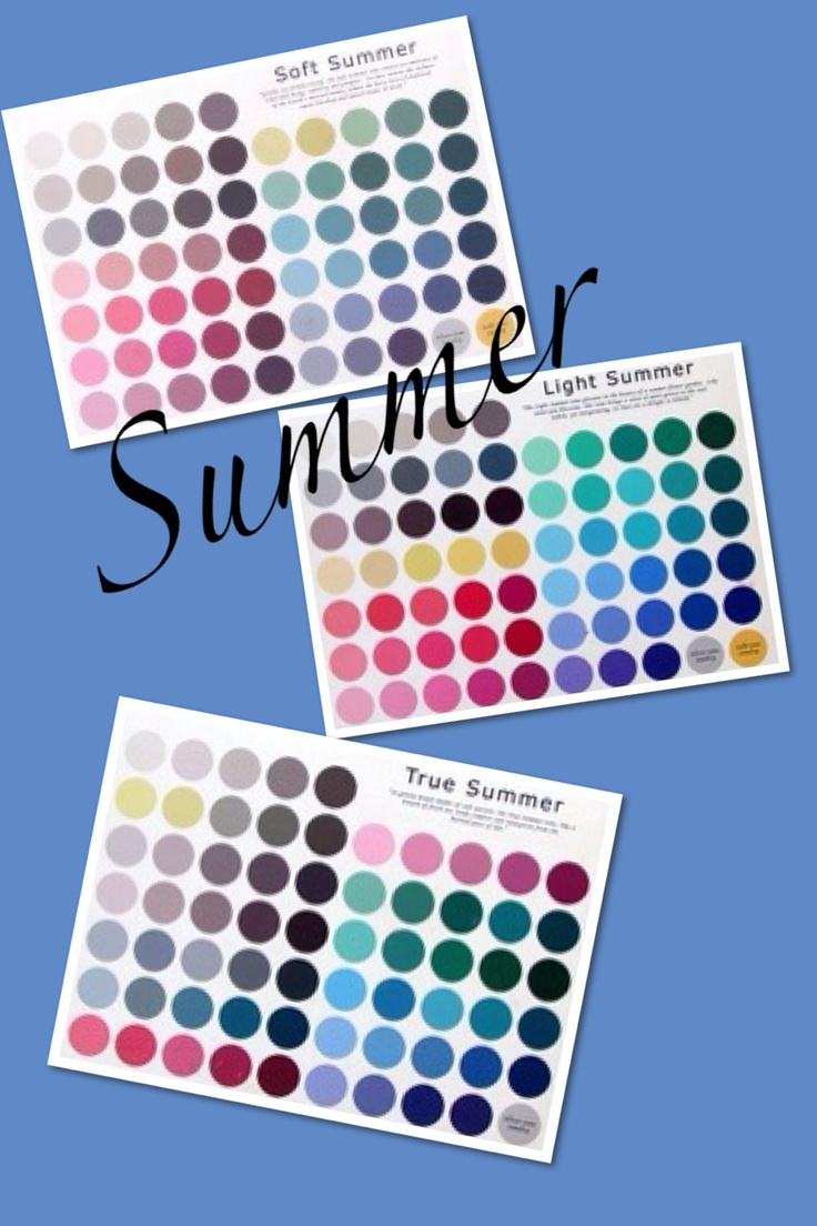 Summer Palette 2018: 1000+ Images About Analysis: Summer