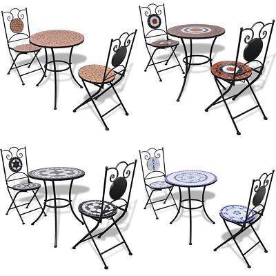 Mosaik Balkonset Gartenmobel Garnitur Sitzgruppe Tisch Mosaik