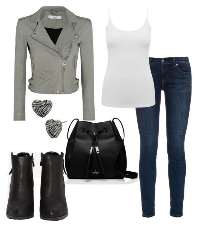 """""""Untitled #84"""" by tayken3 on Polyvore featuring rag & bone, M&Co, Kate Spade, IRO, N.Y.L.A. and Betsey Johnson"""