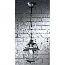 Traditional Oudoor Hanging Porch Lantern Gunmetal