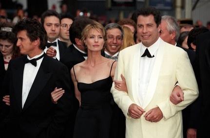 Sean Penn, Robin Wright, John Travolta - 50e Festival