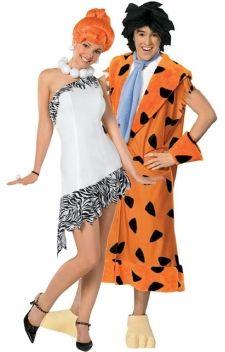 Le couple Pierrafeu, Wilma & Fred. Yabba-Dabba-Doo attitude lors de vos soirées à thèmes «dessins animés», «films», ou «préhistoire». Déguisements sous licence officielle.