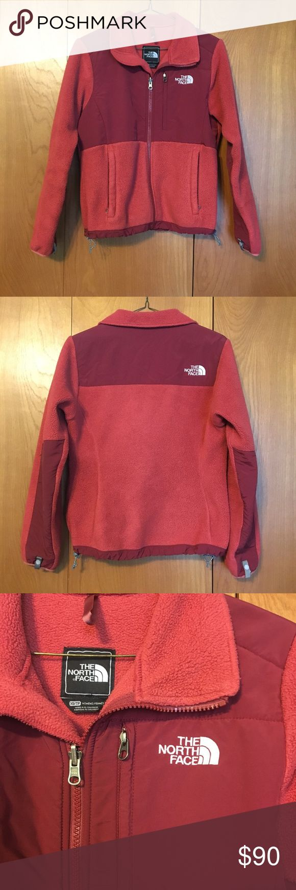 North Face Jacket! 😍 Like new North Face fleece jacket! 😍 Beautiful Reddish/Salmon color. ❤️ Very good condition! The North Face Jackets & Coats