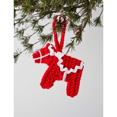 Free Knitting Patterns Christmas Tree Decorations