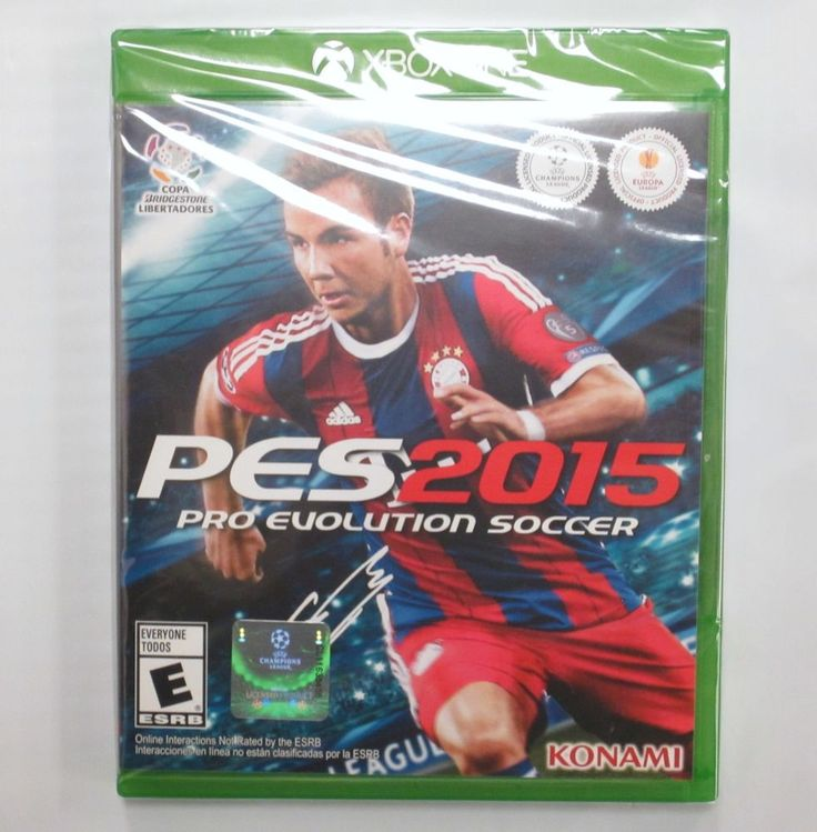 Pro Evolution Soccer 2015 PES for XBOX ONE XB1  *NEW*