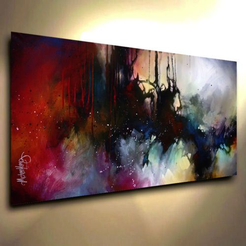 Details about Abstract Art Modern CONTEMPORARY Giclee Canvas Print ...