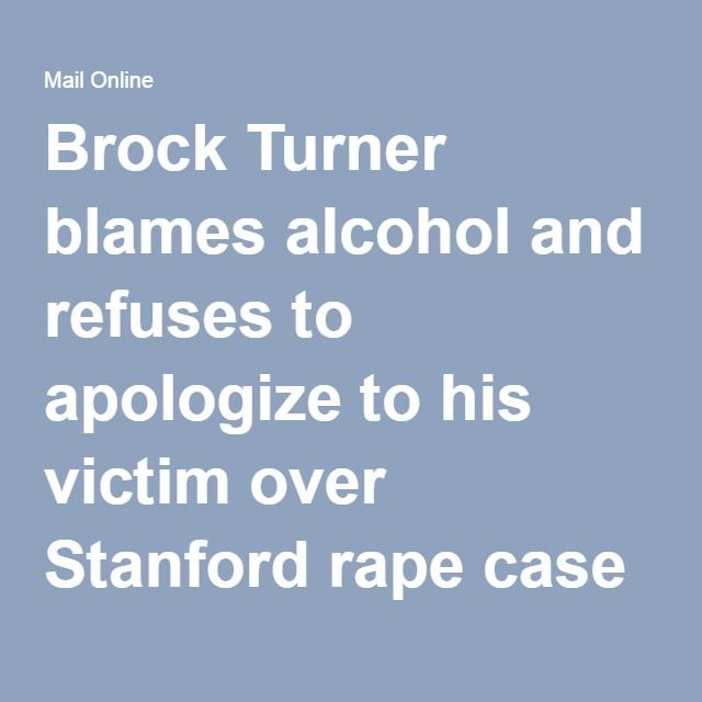 Best 25+ Brock turner victim ideas on Pinterest Brock turner - victim statement