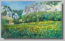 Peinture Paysage Quinson