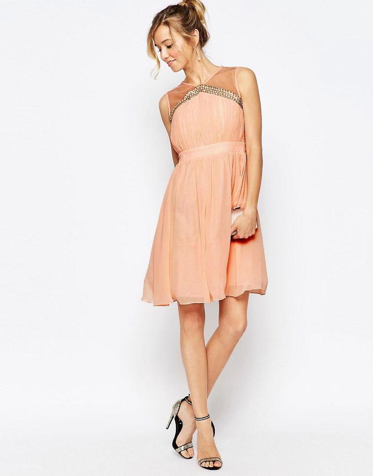 17 meilleures id es propos de robes roses p les sur pinterest robes courtes vestidos et. Black Bedroom Furniture Sets. Home Design Ideas