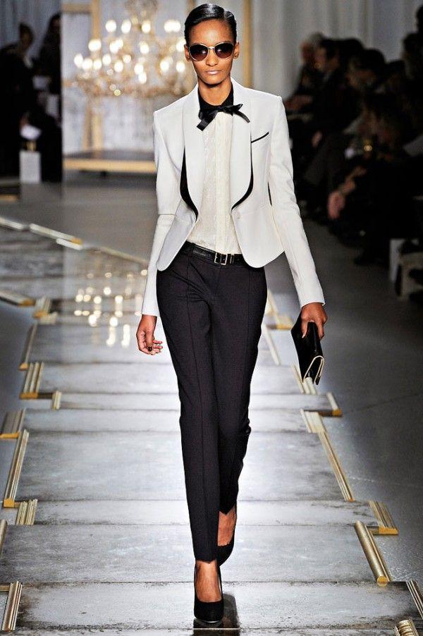 Fall trends – Women's tuxedo