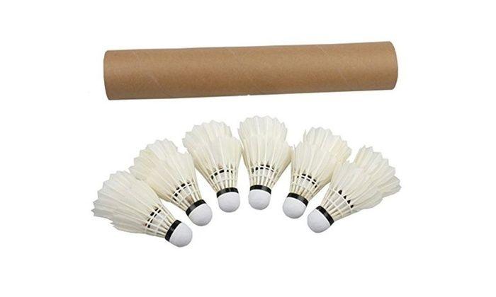 Regail Pack of 12 Professional Badminton Shuttlecock