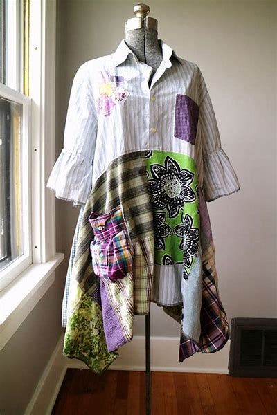 Repurposed Clothing Upcycling Shabby Chic