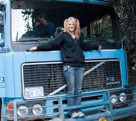 Lisa-Kelly-ice road triflers....love Lisa!!!