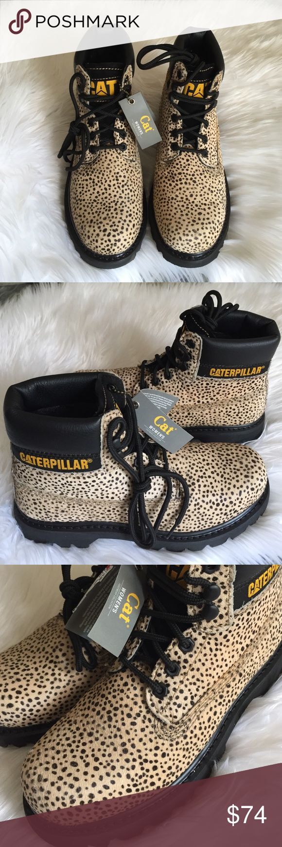 "•Caterpillar Boots• The Colorado has been a classic from de very beginning.Its stylish look and rigid construction make it the ideal boot for any occasion/calf hair upper/full grain leather/Goodyear welt construction/1"" heel height/mesh lining/poliyou sock liner/T3 lug outsole/new without box/price is firm/thanks for looking😉                                                        ❌No Trades❌ Caterpillar Shoes"