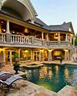 Big Beautiful Mansions With Pools 256 best rich houses with high end landscaping images on pinterest