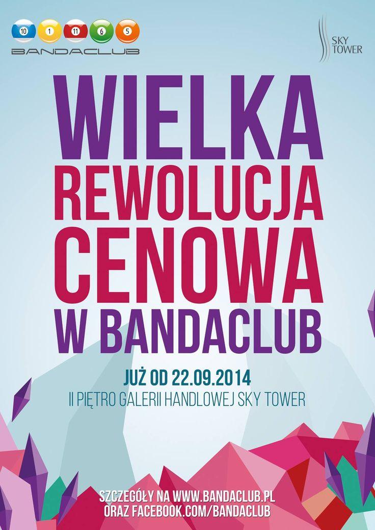 WIELKA REWOLUCJA CENOWA W Bandaclub  szczegóły na profilu Bandaclub i na www.bandaclub.pl  Kto chętny na grę?