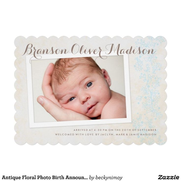 1000 images about Baby Birth Announcement Cards – Madison Birth Announcements