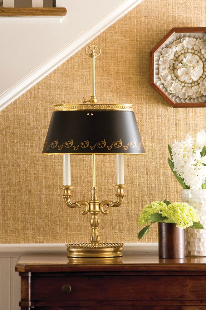 Brass Floor Lamp Decor