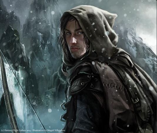 Faramir by Magali Villeneuve.