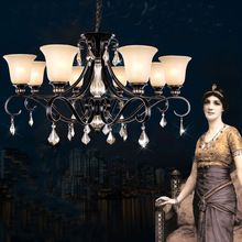 vintage iron chandelier Iron Home Lighting rustic iron chandeliers classical  maria theresa crystal chandelier crystal drops //Price: $US $320.00 & Up to 18% Cashback on Orders. //     #homedecor