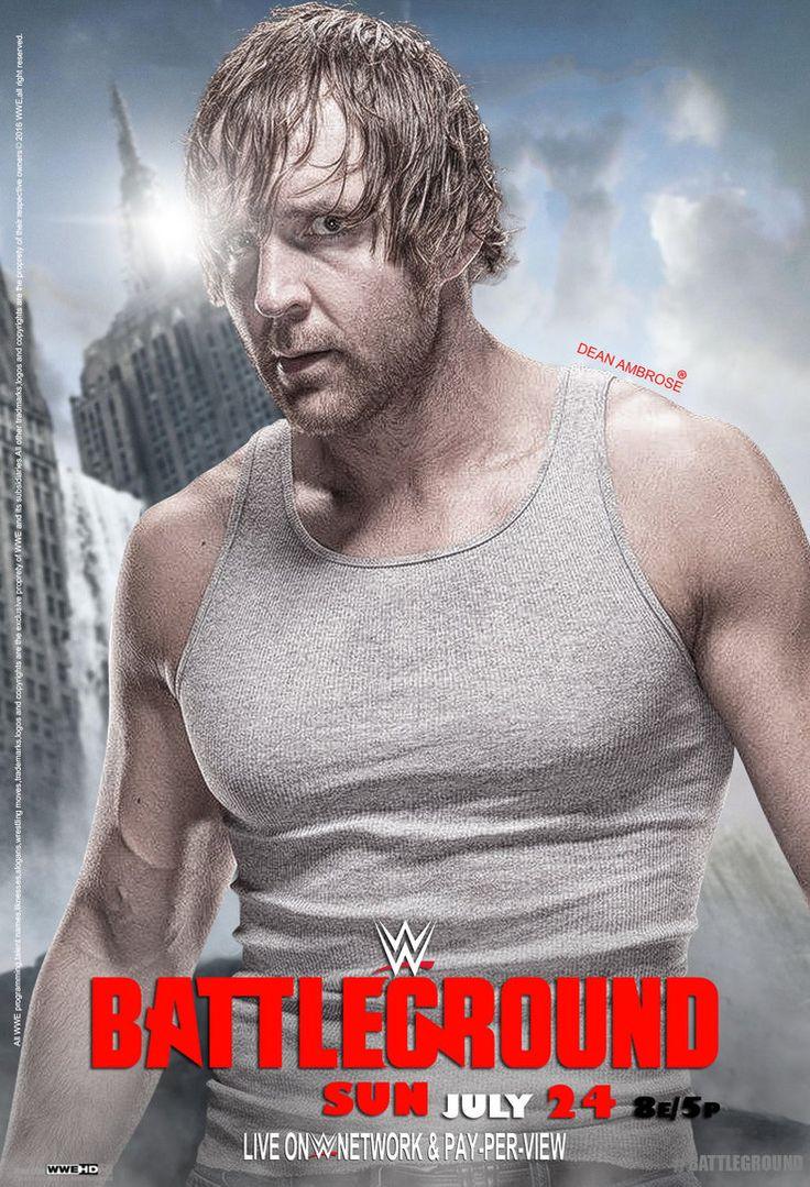 WWE Battleground 2016 Poster by edaba7.deviantart.com on @DeviantArt