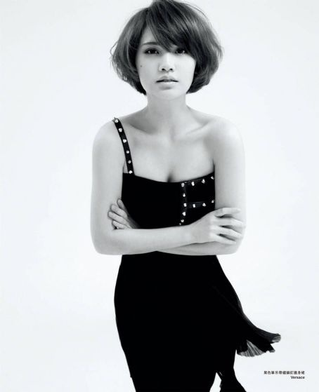 Rainie Yang Marie Claire Hong Kong May 2012