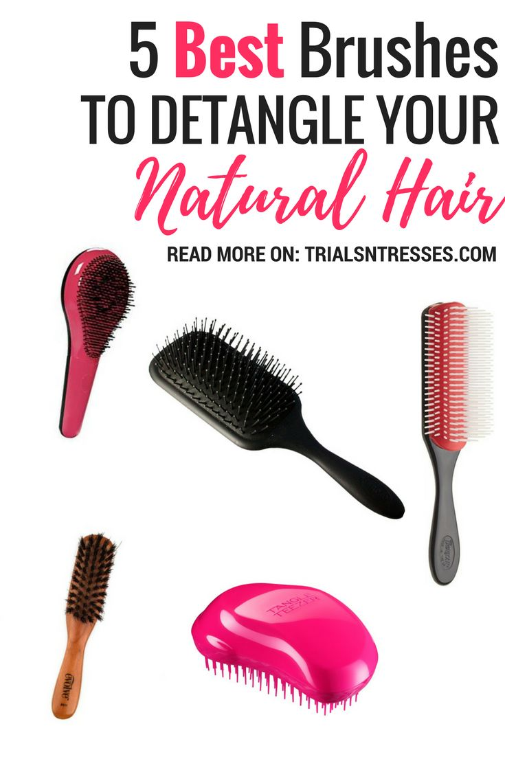 brushes to detangle natural hair