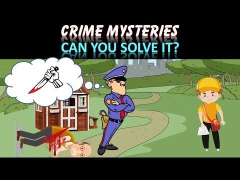 3 riddles popular on crime (part 10) | Murder mystery riddles - Who did ...