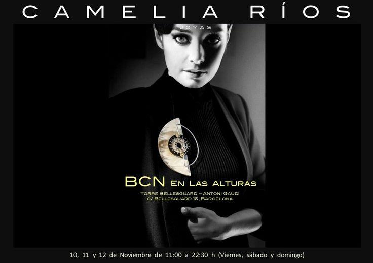 Hoy sabado y mañana domingo en BCN En Las Alturas, en Torre de Bellesguard, carrer de Bellesguard 16, Barcelona.  Fotografía: Euliser Polanco Peluquería: Sara Ruesga Modelo: Loida Palacios Vega