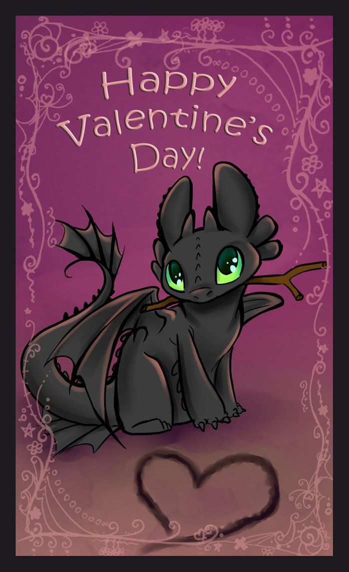 796 best how to train your dragon images on pinterest dragon 2 valentines day dragon toothless valentine by ccuart Choice Image