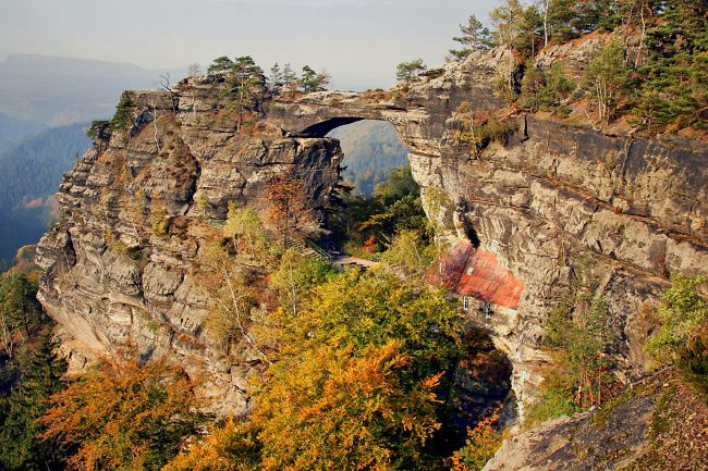 The National park České Švýcarsko, Czech Republic