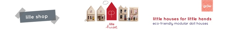 Langley | Grow Studio. Doll houses laser cut from cardboard
