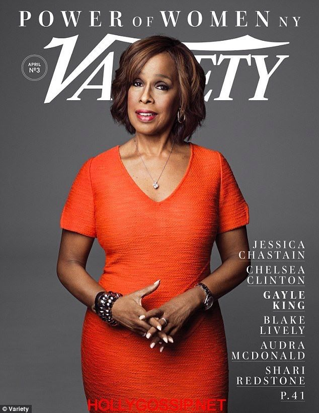 Gayle king on the cover of variety magazine Power of Women http://ift.tt/2o9F0f0