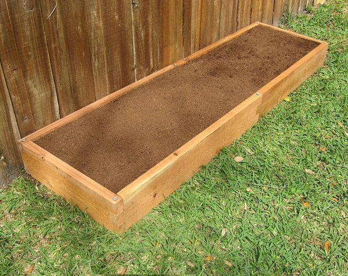Kit Di Letti Da Giardino 4x4 Cedar Raised Garden Con Sistema Di