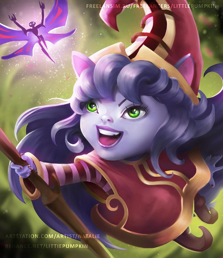 Lulu - Fan art, Natalie Stratulat on ArtStation at https://www.artstation.com/artwork/lulu-fan-art
