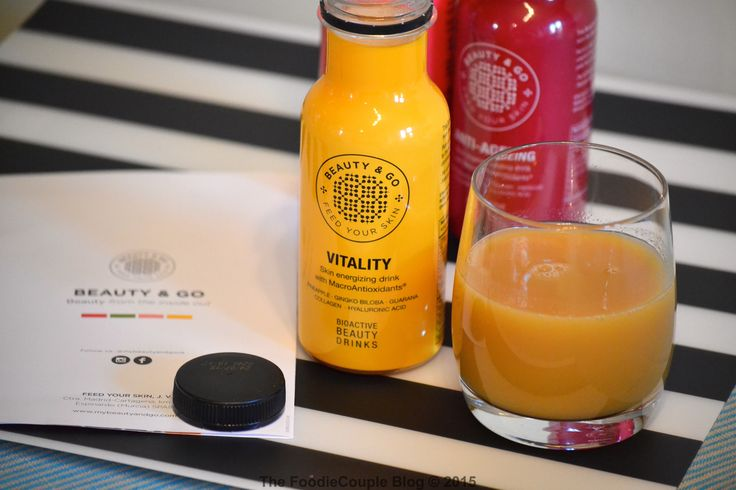 New Beauty Juice drinks from @mybeautyandgouk - review now on the blog