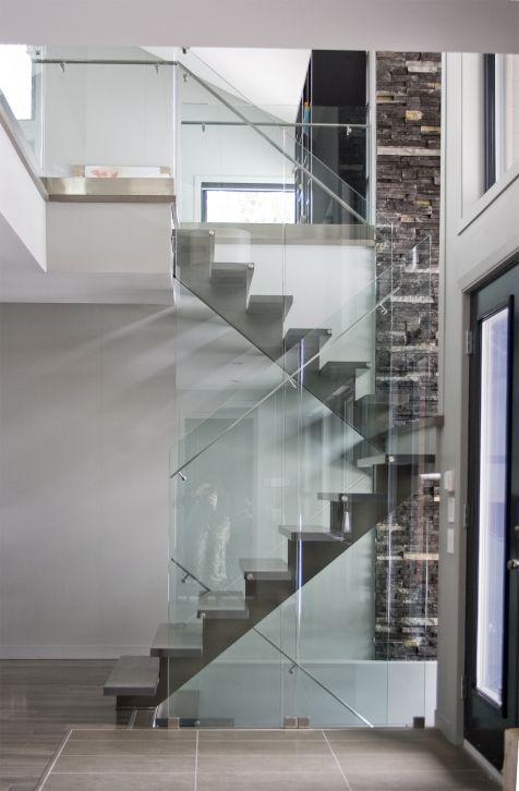 1000 id es sur le th me escalier flottant sur pinterest escaliers escaliers modernes et lit. Black Bedroom Furniture Sets. Home Design Ideas