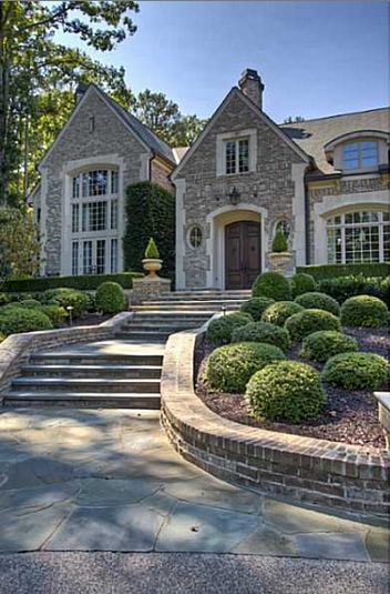 17 best images about front entrance ideas on pinterest for Atlanta dream homes