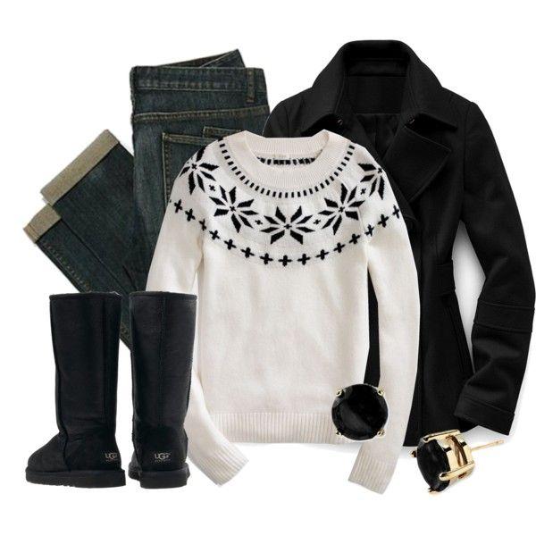 Black Ugg Boots :)