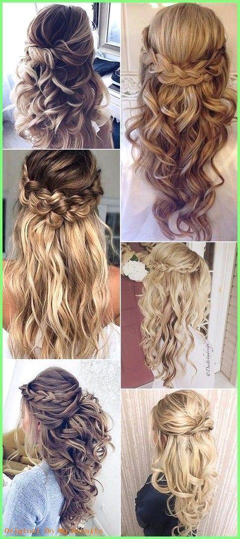 Prom hairstyles 2019  2017 trending half high half down wedding hairstyles # hi